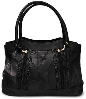Fin Stores Hobo Purse For Women (Black)