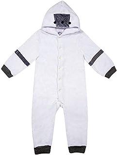 Pijama Macacão com Capuz em Pelúcia com Capuz em Pelúcia, TipTop, Criança Unissex