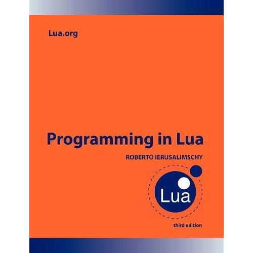Lua Programming Amazon Com