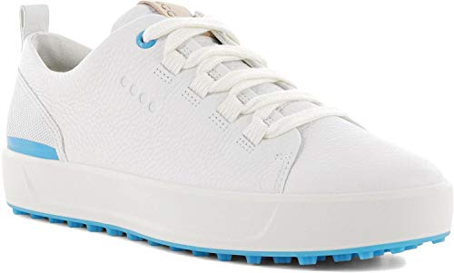 ECCO W Golf Soft 2020, Chaussure Femme, White Blue, 38 EU