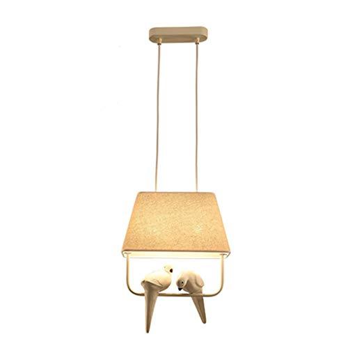 Z iluminación Mantelerías Bird decoración de la lámpara de la lámpara nórdica Creativo Simple café de la Barra del Restaurante Tienda de Ropa Balcón Ventana de Niños [energética A +] Fashion