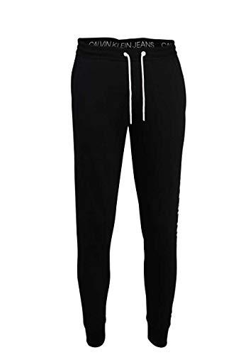 Calvin Klein Jeans Vertical Logo HWK Pant Tuta da Ginnastica, CK Nero, XXL Uomo