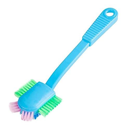 Notuarecaii Herramientas De Limpieza Portátiles para Zapatos, Cepillo para Zapatos De, Zapatillas, Cepillos para Lavar, Limpiador para El Hogar