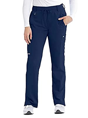 Grey's Anatomy Signature 2218 Women's Olivia Cargo Scrub Pant Indigo (Navy) M