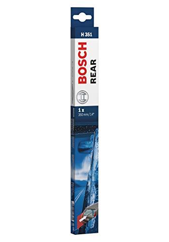 Escobilla limpiaparabrisas Bosch Rear H351, Longitud: 350mm – 1 escobilla limpiaparabrisas para la ventana trasera