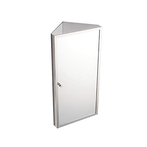 Stainless Steel Corner Bathroom Medicine Cabinet