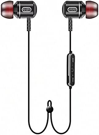 Freesolo S8 Wireless Bluetooth 4.1 In-Ear Noice Isolating Headphone with Mic & Controller (Black)