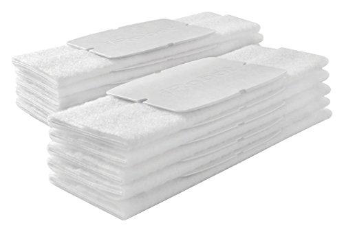 Pack de 10 Lingettes Jetables pour Nettoyage à Sec Braava Jet iRobot - Blanc