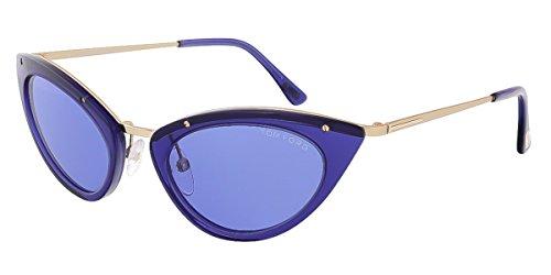 Tom Ford Gafas de Sol FT-GRACE 0349S-90V (52 mm) Azul
