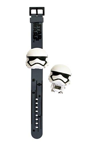Montre lumineuse Stormtrooper Star Wars BulbBotz 2021128 pour enfant