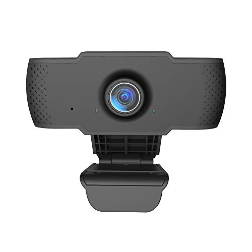 Lechnische camera built-in microphone, full HD 1080P streaming webcam for laptops, desktop, gaming PC and Mac, USB mini webcam, flexible rotatable laptop for video calls, recordings
