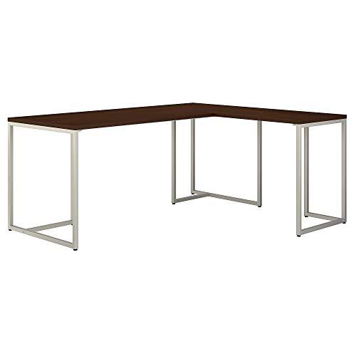 Bush Business Furniture Office by kathy ireland Method L Shaped Desk with 30W Return, 72W, Century Walnut