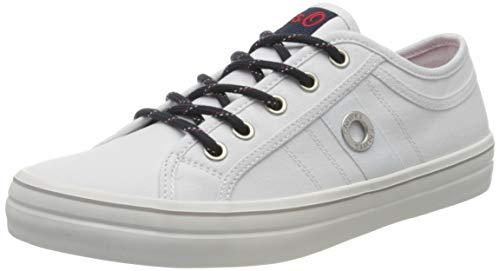 s.Oliver Damen 5-5-23644-24 Sneaker, Weiß (White 100), 37 EU