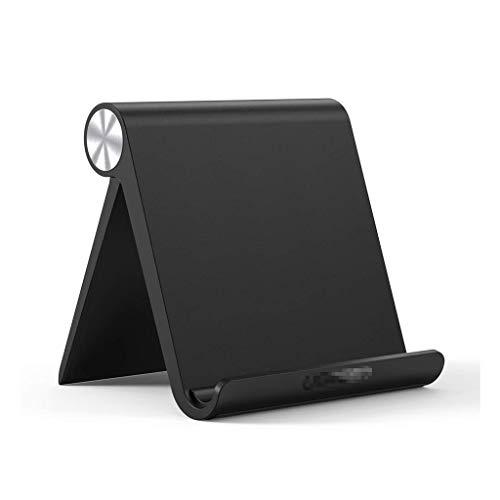 Soporte ajustable para ordenador portátil, plegable, compatible con iPad 10.2 2019, iPad Pro 11 pulgadas 2020, iPad 9.7 2018, iPad Mini (color negro)