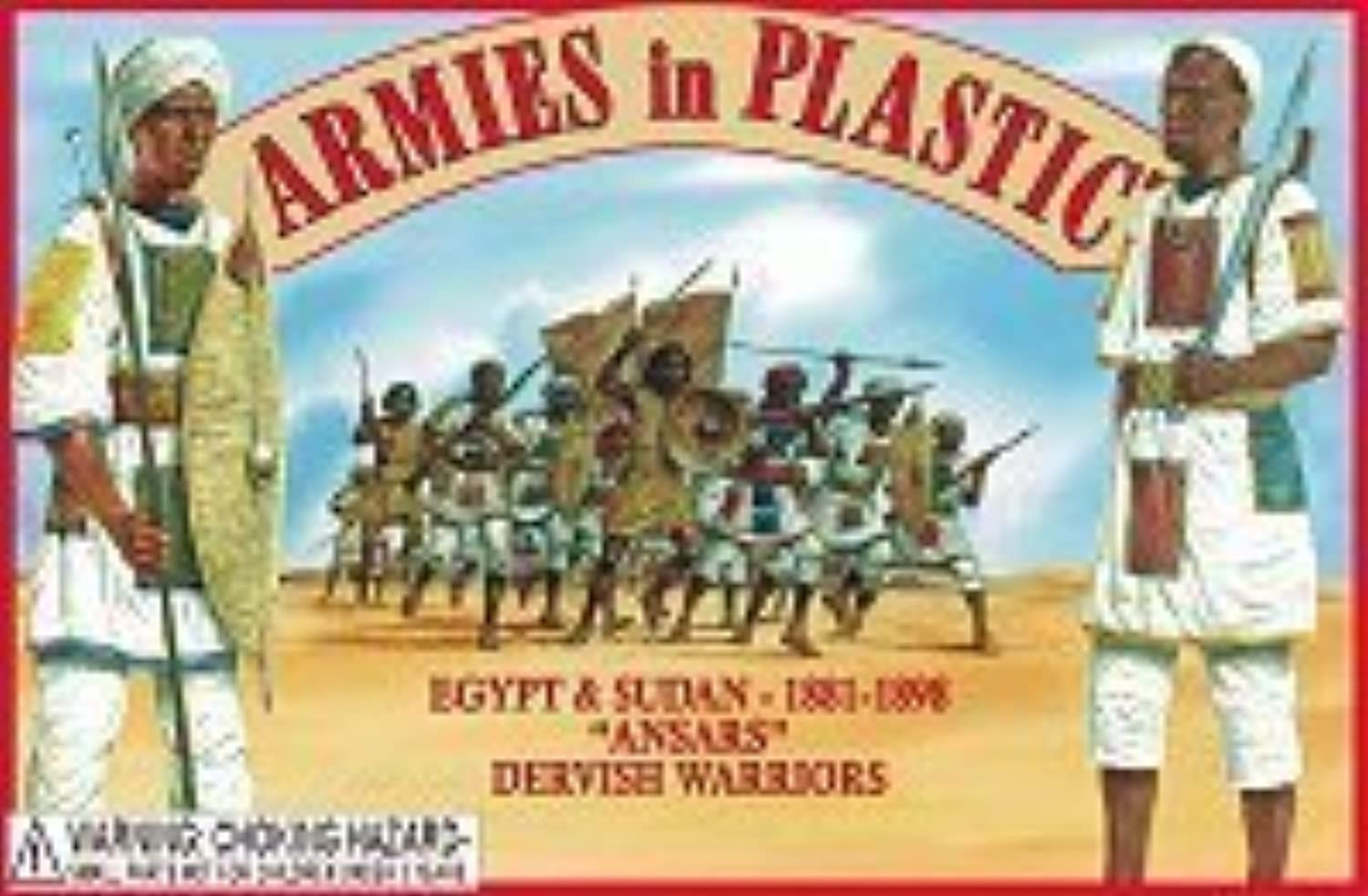 Egypt & Sudan 1881-1898 Ansars Dervish Warriors (20) 1 32 Armies in Plastic by Armies in Plastic
