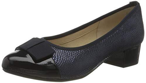 CAPRICE 9-9-22345-26, Zapatos de tacón con Punta Cerrada Mujer, Ocean Rep Comb, 35.5 EU