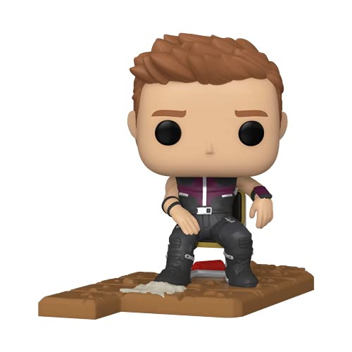 Funko 54900 POP Deluxe: Marvel- Hawkeye Shawarma - Exclusive