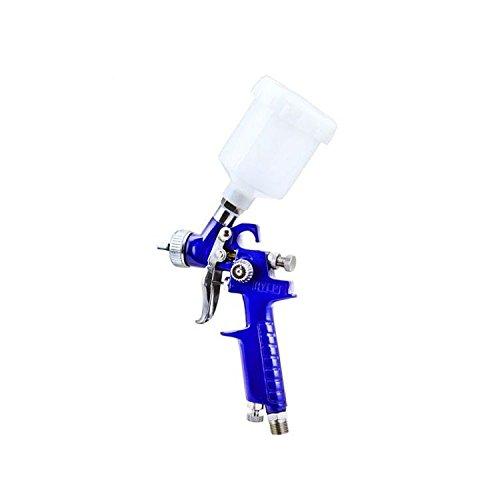 New Mini Hvlp Air Spray Gun Auto Car Detail Touch Up Paint Sprayer Spot Repair