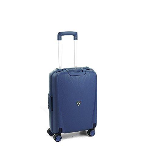 Roncato Light Maleta Cabina avión Azul, Medida: 55 x 40 x 20 cm, Capacidad: 41 l, Pesas: 2.90 kg, Maleta Cabina avión ryanair