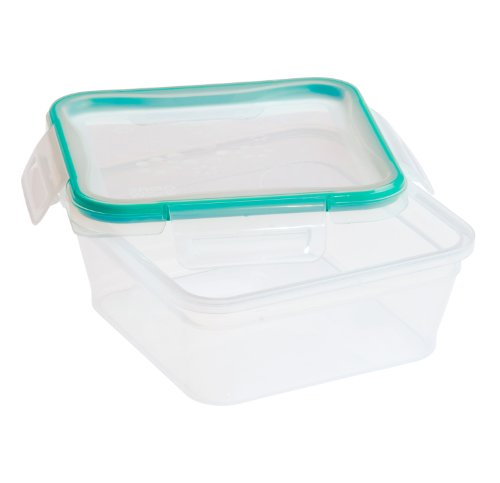 Snapware Total Solution Rectangular Plastic Food Storage Set (5.35-Cup, BPA Free, Meal Prep, Leak-Proof, Microwave, Freezer and Dishwasher Safe)
