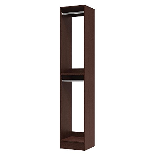 Modifi 15 in. x 84 in. x 15 in. Utility Tower and Closet Kit in Mocha