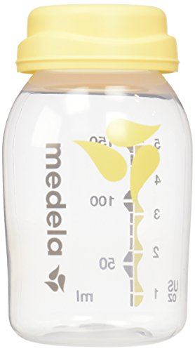 Medela Breast Milk Collection and Storage Bottles, 6 Pack, 5 Ounce Breastmilk...