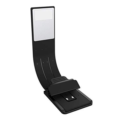 JXXU Clip-on-Buch-Licht USB aufladbare Flexible LED-Leselicht-Clip 4 Ebene Helligkeit einstellbar Multifunktionales als Lesezeichen und Lampe for Bett Schreibtisch Kindle Buch iPad
