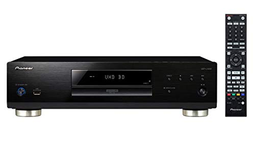 Pioneer UDP-LX500(B) Lettore Universale (Riproduzione di Blu-Ray Ultra HD, Dvd (Video/Audio), CD Audio (CD-da/SACD/CD/CD/CD-RW), Memoria USB/HDDD, Supporto HDR10/Dolby Vision, PQLS), Nero