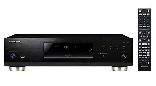Pioneer Universal-Disc-Player, UDP-LX500, Wiedergabe von Ultra HD Blu-ray, DVD (Video/Audio), Audio CD (CD-DA/SACD/CD/CD-R/CD-RW), USB Speicher/HDD, Unterstützung für HDR10/Dolby Vision, PQLS, Schwarz