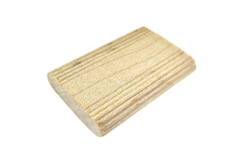 Taytools 400 Pack 5mm x 30mm x 19mm Beechwood Loose Tenons Compatible With Domino Loose Tenons Joinery Systems