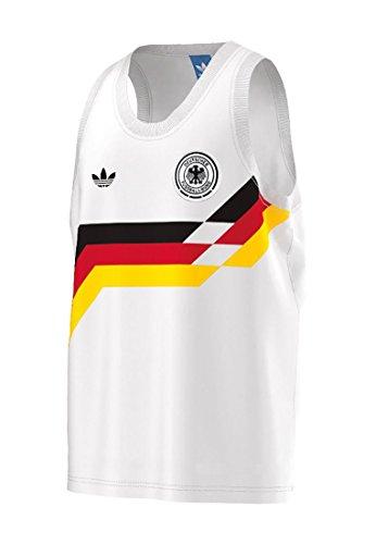adidas Herren Germany Tank, weiß/schwarz, XXL-62