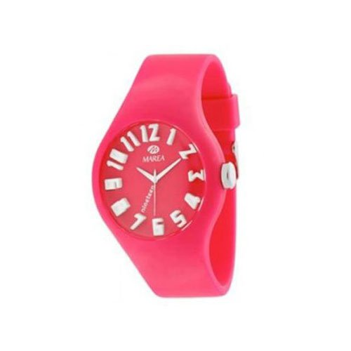 Reloj MAREA Unisex Grande Color Rosa Fucsia Modelo Nineteen