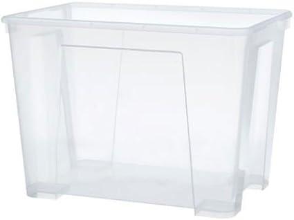 Ikea Boite De Rangement 22 Litres Samla Amazon Fr Cuisine Maison