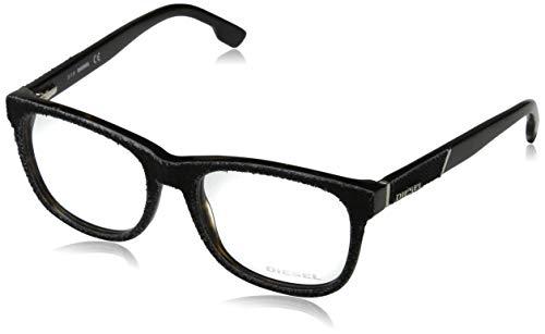 Diesel Unisex-Erwachsene Optical Frame Dl5124 056 52 Brillengestelle, Schwarz,