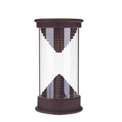 WGGTX Quemador de Incienso Reloj de Arena Yixing Cerámica Reflujo Cascada de Humo Quemador de Incienso incensario del sostenedor del hogar Artesanía