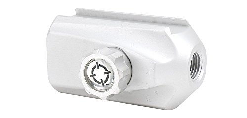 Smart Parts Paintball Zubehör Dovetail ASA On Off, Silber, 64944