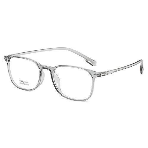 GEMSeven Gafas Cuadradas Ultraligeras Tr90 De Montura Completa Para Miopía Con Dioptrías
