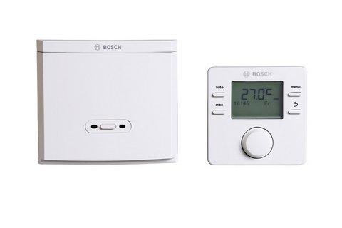 BOSCH Raumtemperaturregler CR 100 RF Funkregler (Bedieneinheit + Funkmodul) # 7738111135