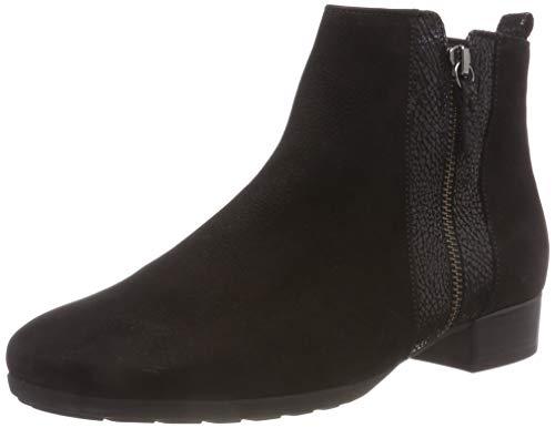 Gabor Shoes Damen Comfort Sport Stiefeletten, Schwarz (Micro) 87, 38.5 EU