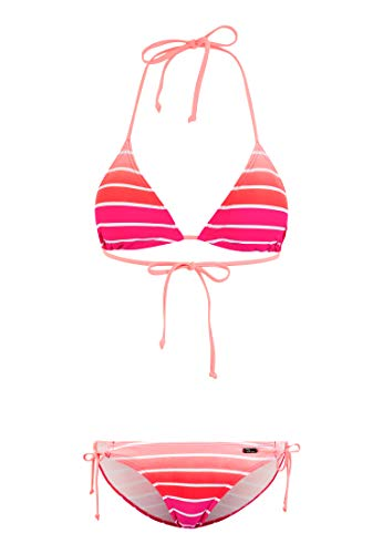 Venice Beach Damen Triangel-Bikini in Neonfarben