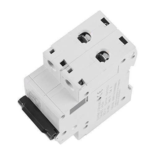 Protección contra cortocircuitos Disyuntor de bajo voltaje 2P Disyuntor de aire Interruptor de energía solar de carril DIN para sistema híbrido solar 16A / 32A / 63A(16A)