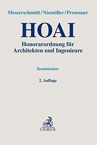 HOAI: Honorarordnung für Architekten und Ingenieure