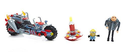 Mattel Mega Bloks FDX82 - Ich einfach unverbesserlich 3 Gru's Transforming Moto Konstruktionsspielzeug