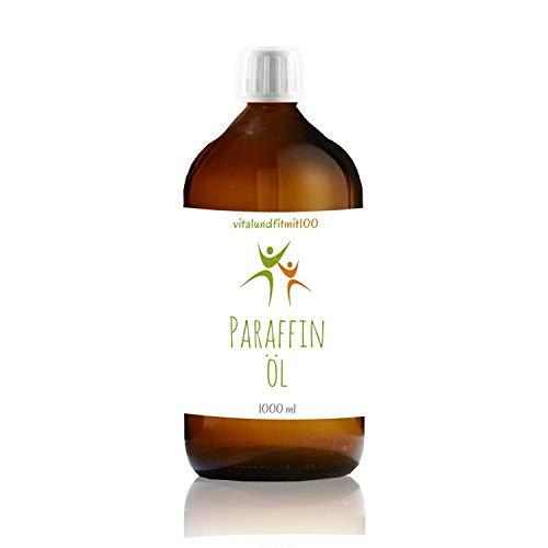 Paraffinum Paraffinöl (Ph. Eur.) 1000 ml, Pharmaqualität, dünnflüssiges & geruchfreies Paraffin-Öl, aus Deutschland