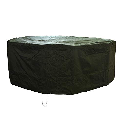 Selections Premium 6-8 Seater Large Round Patio Garden Furniture Cover (2.5m)