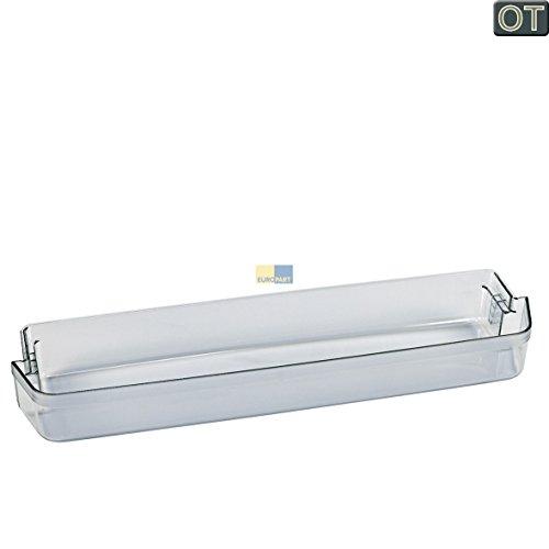 Bauknecht 481241828867 ORIGINAL Absteller Abstellfach Türfach Seitenfach Kühlschrank Kühlschranktür auch für Whirlpool 481241848434 Fagor FFE001720 Ignis Ikea Küppersbusch Laden Siemens