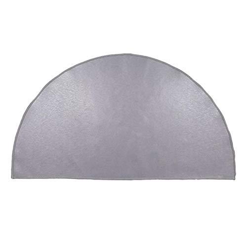 DSFSAEG Alfombra ignífuga ignífuga de fibra de vidrio,Alfombra ignífuga de la zona de la chimenea,Retardante, resistente al calor