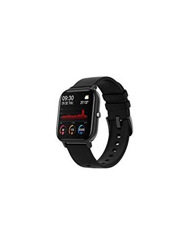 Roneberg RP8 Sport Smartwatch Reloj Inteligente Deportivo Monitor de Presión Podómetro Notificación Llamada SMS (Negro)