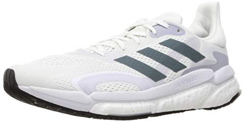 adidas Solar Boost 21 M, Zapatillas para Correr Hombre, FTWR White Blue Oxide Dash Grey, 42 2/3 EU
