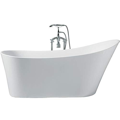 ARIEL Platinum PS114-6730 Paris 67' Inch x 30' Inch Freestanding Acrylic Bathtub